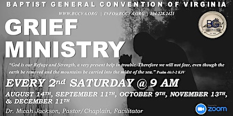 Grief Ministry Session tickets