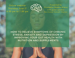 Mental health support with nutrition & supplements tickets