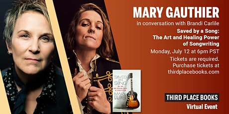 Mary Gauthier in conversation with Brandi Carlile —  Saved by a Song tickets