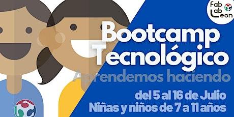 Bootcamp Tecnológico en Fab Lab León 2021 entradas