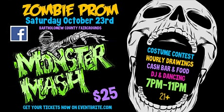 Zombie Prom: Monster Mash tickets