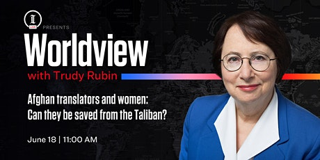 Inquirer LIVE: Worldview with Trudy Rubin tickets