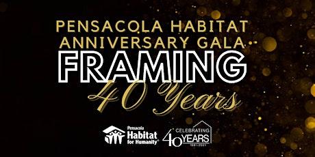 Pensacola Habitat's Anniversary Gala: Framing 40 Years tickets