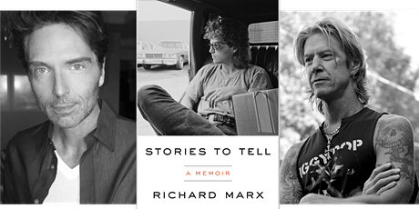 Richard Marx, author of STORIES TO TELL- a virtual ticketed event tickets
