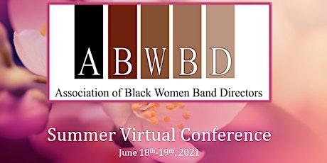 ABWBD Summer Conference 2021 biglietti