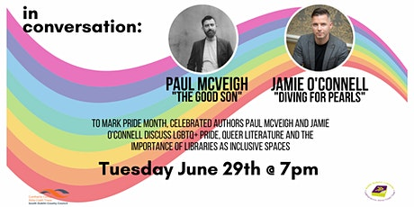 Pride Month: Paul McVeigh and Jamie O'Connell in conversation tickets