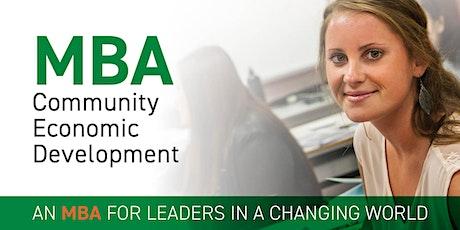 CBU MBA Online On Weekends tickets