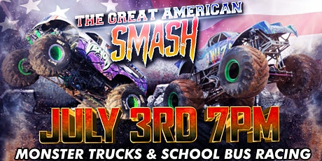 THE GREAT AMERICAN SMASH! - MONSTER TRUCKS tickets