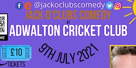 Jack O'Clubs Comedy Night at The Adwalton Cricket Club with Eddie Fortune tickets