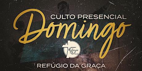 Culto Refúgio da Graça - 13/Junho (NOITE) ingressos