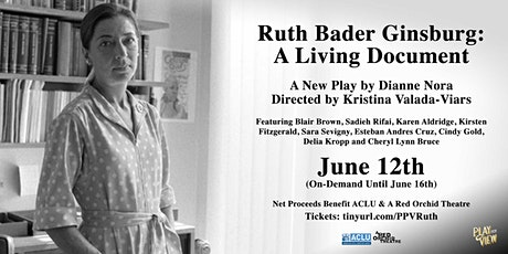 Play-PerView: Ruth Bader Ginsburg: A Living Document (On-Demand) tickets