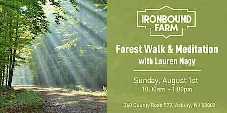 Forest Walk & Earth Meditation with Lauren Nagy tickets