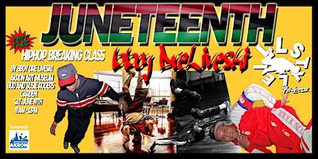 Juneteenth Hip Hop Breaking Class tickets