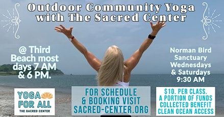 Community Yoga for All on Third Beach with Rev Shelley Dungan & staff 7 AM tickets