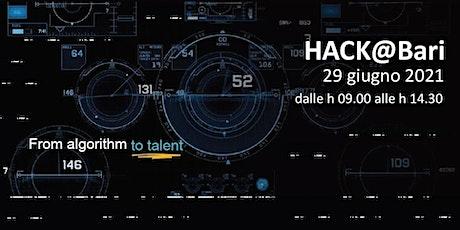 HACK@Bari tickets