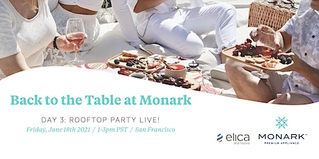 Back To The Table At Monark: (Day 3 - Rooftop Party!) tickets