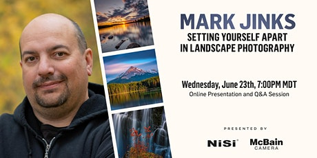 Setting Yourself Apart in Landscape Photography tickets