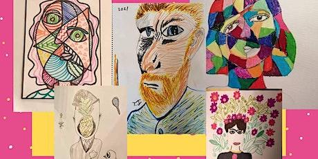 AFTER SCHOOL ART CLUB - Portraits tickets