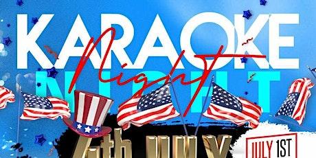 Karaoke Night Stars & Stripes Extravaganza tickets