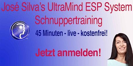 UltraMind ESP System - Schnuppertraining Tickets