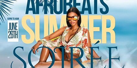 AFROBEATS summer SOIRÉE tickets