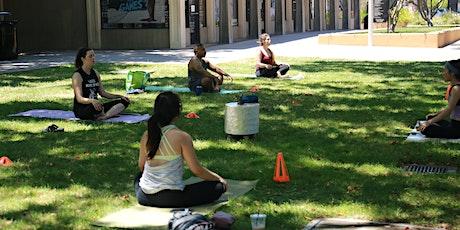 Outdoor Social Distancing Yoga tickets