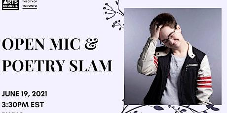 Open Mic & Poetry Slam ft. Robert Molloy Tickets