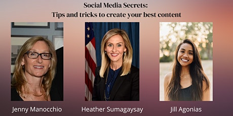 Social Media Secrets: Tips and tricks to create your best content tickets