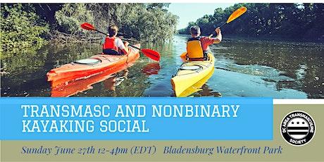 Transmasc and Nonbinary Kayaking Social tickets
