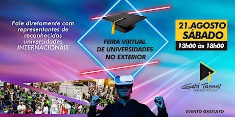 Feira Virtual de Universidades no Exterior tickets