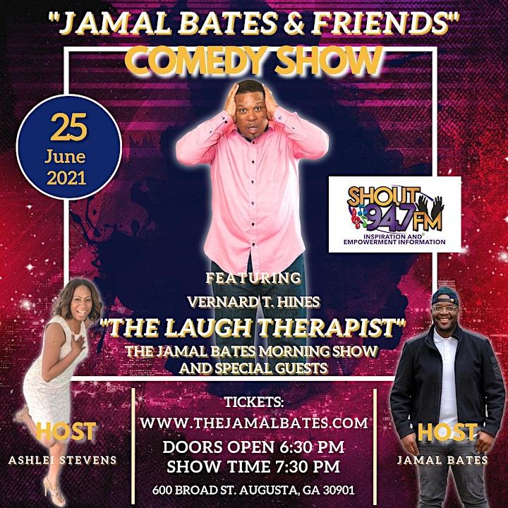 Jamal Bates & Friends Comedy Show image