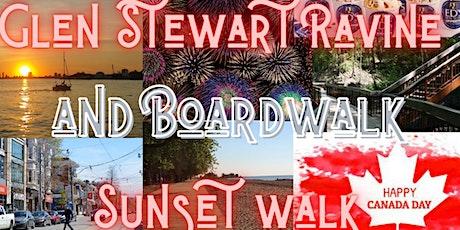 Canada Day - Glen Stewart Ravine and Boardwalk Sunset walk! tickets