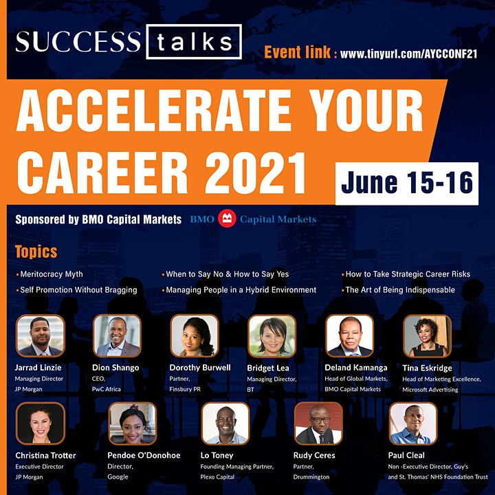 Success Talks Accelerate Your Career Conference 2021 image