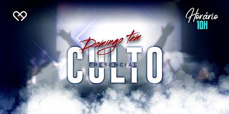 Culto de Celebração - 13/06 - 10h00 ingressos