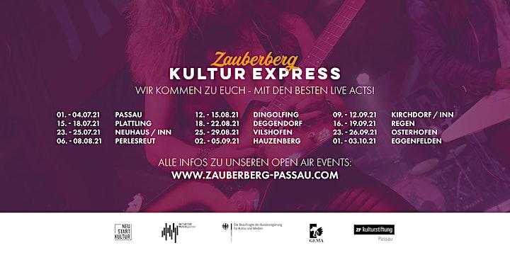 Glasperlenspiel  • Passau • Zauberberg Kultur Express Abschluss Open Air: Bild