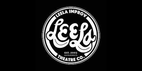 Leela: Online Drop-In Improv Class (Mon-061421) tickets