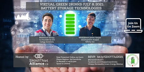 Virtual Green Drinks July - Battery Storage Technologies tickets