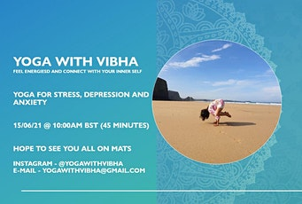 Yoga class for stress and anxiety tickets
