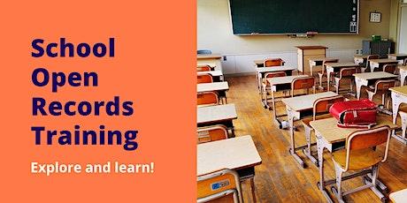 Digging into DC: School Open Records Training / Intérprete de español entradas