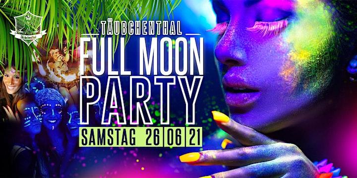 FULL MOON PARTY // Täubchenthal: Bild