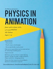 FREE Physics in Animation tickets
