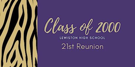 LHS Class of 2000 - 21st Reunion tickets