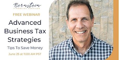 Advanced Business Tax Strategies tickets