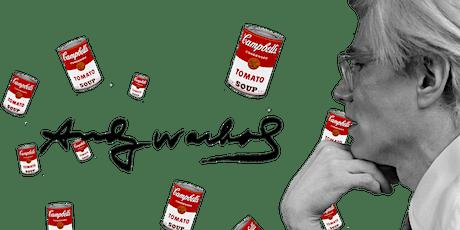 Masterclass: La superficialidad de Andy Warhol boletos