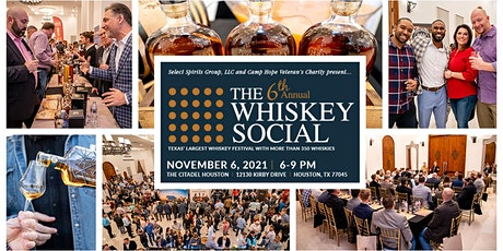 6th Annual Houston Whiskey Social tickets