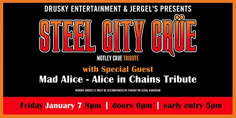 Steel City Crue - A Tribute to Motley Crue tickets