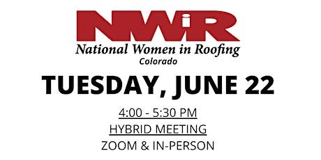 NWIR Denver June Meeting tickets