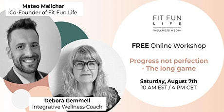 FREE online Event PROGRESS NOT PERFECTION -  The Long Game entradas