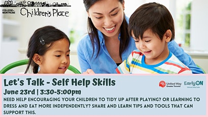 Let's Talk: Self Help Skills for Toddlers and Kindergarteners tickets