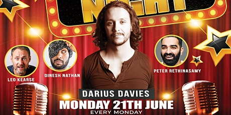 MONDAY NIGHT COMEDY AT KISS THE SKY tickets